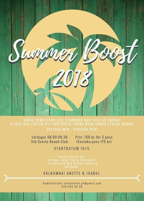Summer Boost 5
